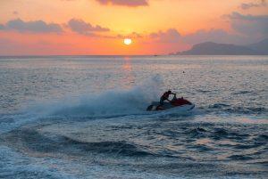 Florida Ski Riders Jet Ski at sunset